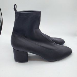 Black Ankle Boot Topshop Buttercup